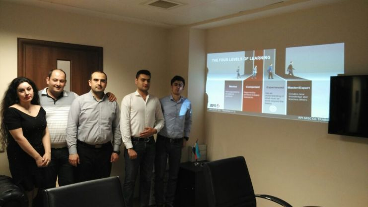 API Spec Q1 9th Edition Training In Baku, API Q1 course in Baku, API Q1 Consulting in Baku