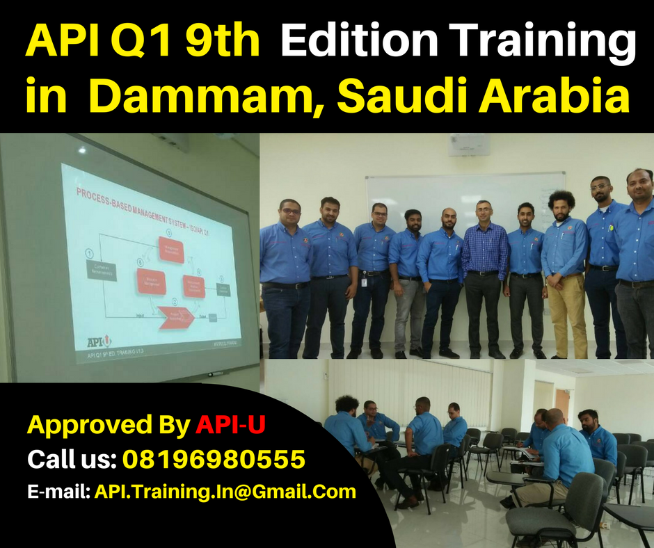 API-U Approved Q1 Training - API Q1 and Monogram Consulting